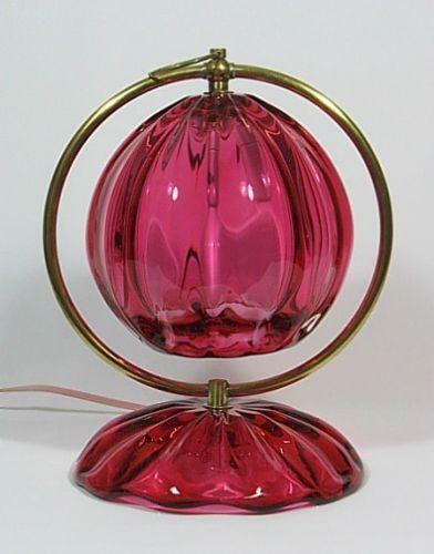 Murano Art Glass Lamp Ebay