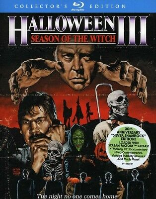 Halloween III: Season of the Witch (Collector's Edition) [New Blu-ray] (Witch Halloween Movies)
