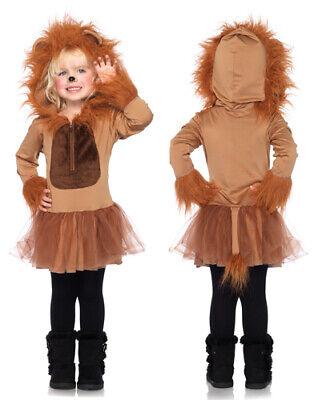 Kids Cuddly Lion Girls Halloween - Lion Girl Kostüme