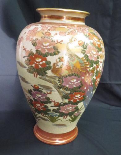 Satsuma Vase Signed Ebay