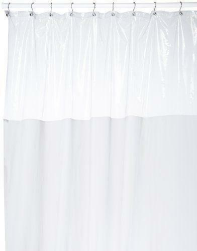 Clear Shower Curtains With Designs Clear Panel Shower Curtain
