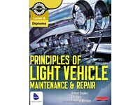Level 2 Principles of Light Vehicle Maintenance and Repair - SECOND 2ND BOOK