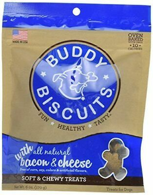 - Cloud Star Buddy Biscuits Soft Chewy Dog Treats Bacon Cheese Flavor 6 oz