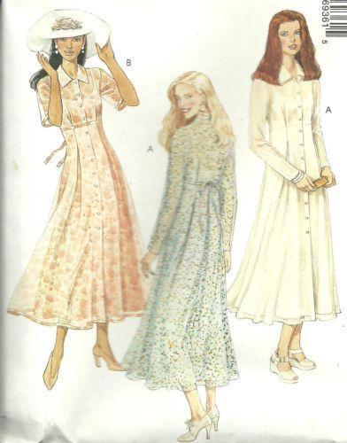 Empire Waist Dress Pattern Ebay