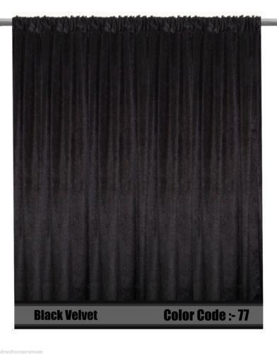 Black Stage Curtain | eBay