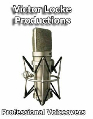 Phone Greeting, On Hold Message, Commercials, Narrations, Voiceovers, 50 Yr Pro - $18.99