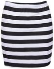 Unbranded Striped Mini Skirts for Women