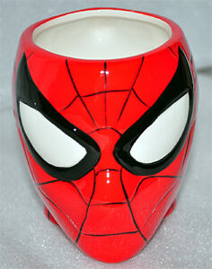 SPIDERMAN FIGURE CERAMIC COFFIE CUP NEW