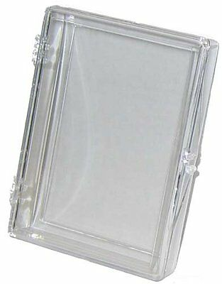 Plastic Hinged Boxes - (10 Box Lot) Ultra Pro 25-Card Hinged Plastic Boxes Holders For Trading Cards