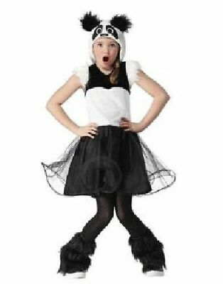 NWT Girls Size Small (4-6X)  * PANDA *  Halloween / Dress Up Costume