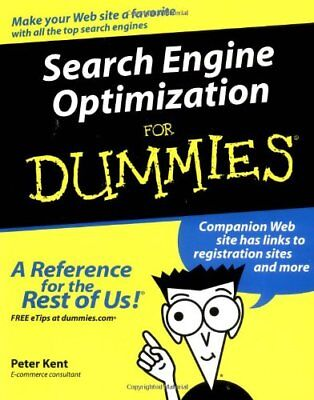 Search Engine Optimization For Dummies  For Dummie