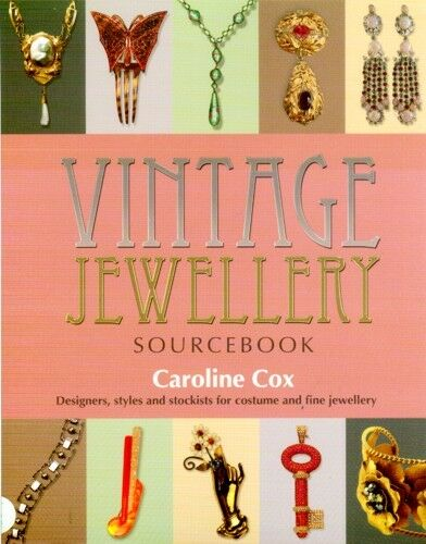 Vintage Jewelry Sourcebook Lalique Art Nouveau Victorian Edwardian Bakelite Pix!