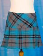 Womens Tartan Skirt