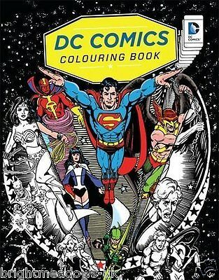 DC Comics Adult Colouring Book Justice League Green Arrow Lantern Flash Batman ()