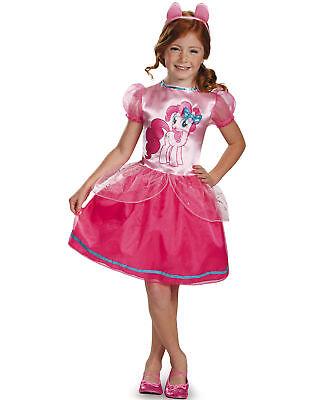 MY LITTLE PONY PINKIE PIE CHILD HALLOWEEN COSTUME GIRL'S SIZE SMALL 4-6X