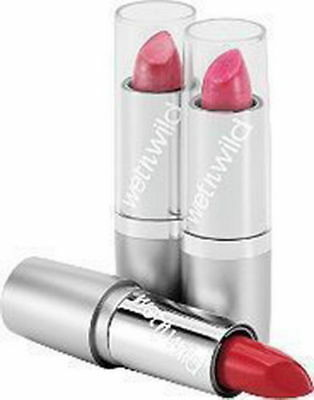 Wet N Wild Silk Finish Lipstick Lip Color *Choose Color* NEW! Free Shipping