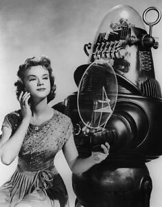 Anne-Francis-Robby-the-Robot-Forbidden-Planet-Photo-Print-14-x-11
