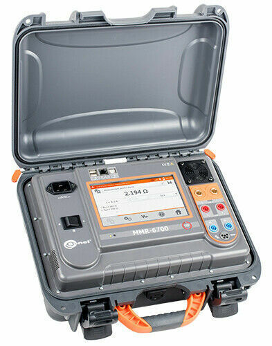 Sonel MMR-6700 Micro-Ohmmeter 200A Resistive 10A Inductive Testing DLRO