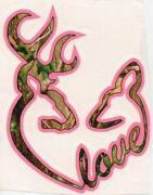 Deer Heart Decal