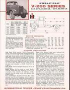 International Truck Brochure
