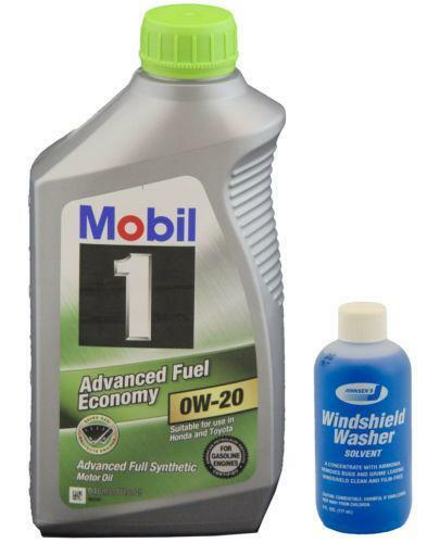 Mobil 1 0w 20 ebay for Sae 0w 20 synthetic motor oil