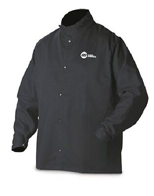 Miller Welding Jacket 9oz. Fr Cotton Medium 244750