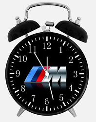 BMW M Model Alarm Desk Clock 3.75 Home or Office Decor W108 Nice For Gift
