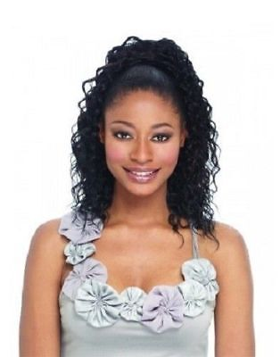 (PALM GIRL FREETRESS EQUAL DRAWSTRING PONYTAIL SYNTHETIC MEDIUM LENGTH WAVY HAIR)