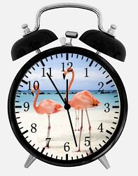 Flamingos Alarm Desk Clock 3.75 Home or Office Decor W143 Nice For Gift