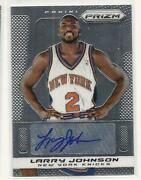 Larry Johnson Autograph