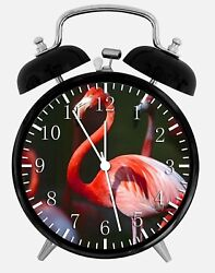 Flamingos Alarm Desk Clock 3.75 Home or Office Decor W132 Nice For Gift
