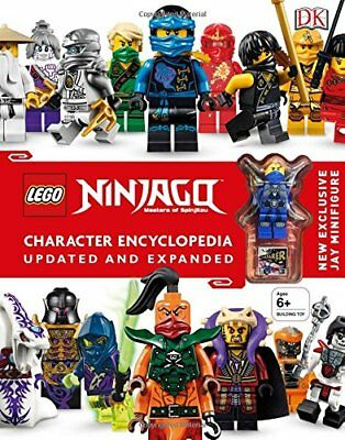LEGO NINJAGO Character Encyclopedia, Updated Edition: New Exclusive Jay Minifig
