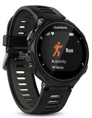 Garmin Forerunner 735Xt Gps Running Multisport Watch Black   Grey   Standard