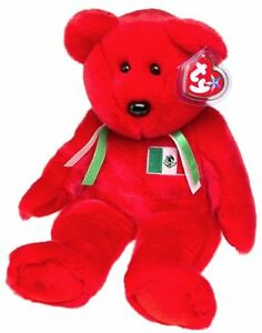 Osito the Mexican Bear Ty Beanie Buddy stuffed animal - USA excl Kitchener / Waterloo Kitchener Area image 1