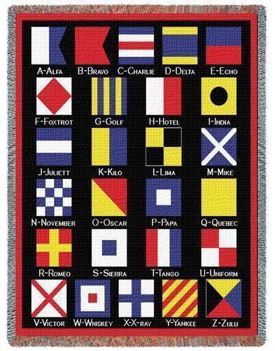 Nautical Flag Pillow Ebay