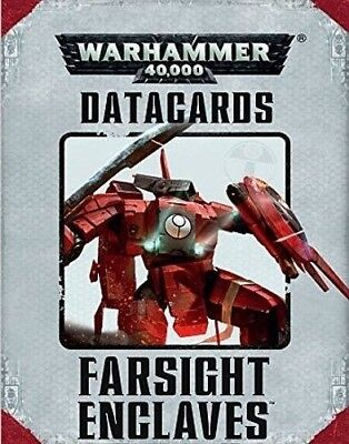 Farsight Enclaves Datacards   Sealed   Brand New  7Th Edition