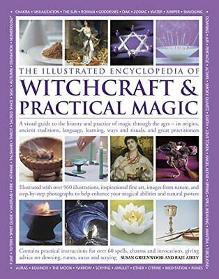 The Illustrated Encyclopedia of Witchcraft & Practical Ma New Paperback Book