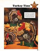 Plastic Canvas Turkey