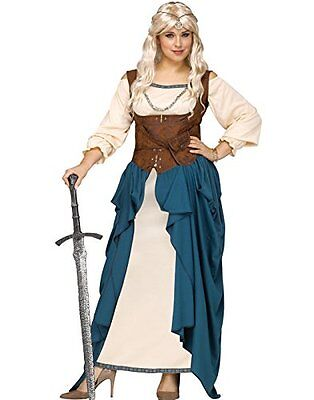 Viking Queen - Adult Costume - Medieval Renaissance Game of Thrones