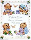Counted Cross Stitch Birth Record