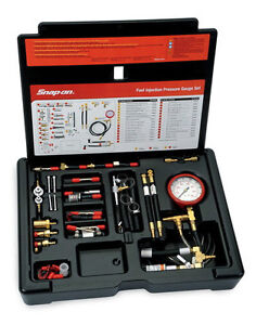 Snap-on Master Fuel Injection Pressure Test Kit