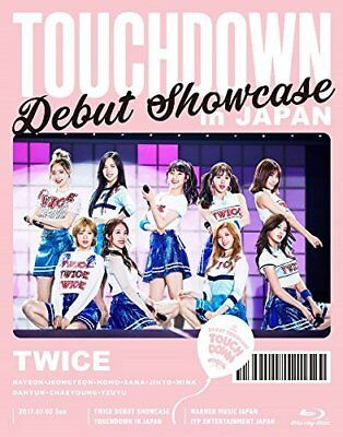 New TWICE DEBUT SHOWCASE Touchdown in JAPAN Limited Edition Blu-ray WPXL-90164