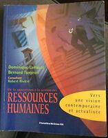 Livre - De la supervision à la gestion des ressources humaines