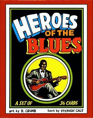 Heroes of the Blues Boxed Trading Card Set by R. Crumb by Robert Crumb, (Paperba