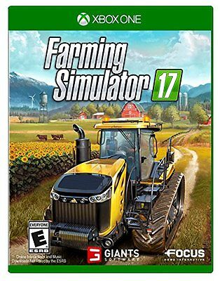 Farming Simulator 17  Xbox One Best Gift for your Child NEW ORIGINAL Top (Best Original Xbox Games For Kids)