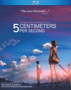 5 Centimeters Per Second [New Blu-ray]