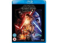 Star Wars Episode VII - The Force Awakens [Blu-Ray] - 2 Disc Set - NEW and SEALED