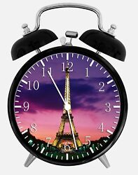Eiffel Tower Alarm Desk Clock 3.75 Home or Office Decor W109 Nice For Gift