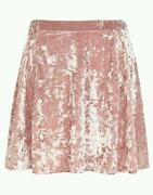 Crushed Velvet Skirt