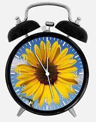 Sun Flower Alarm Desk Clock 3.75 Home or Office Decor W185 Nice For Gift